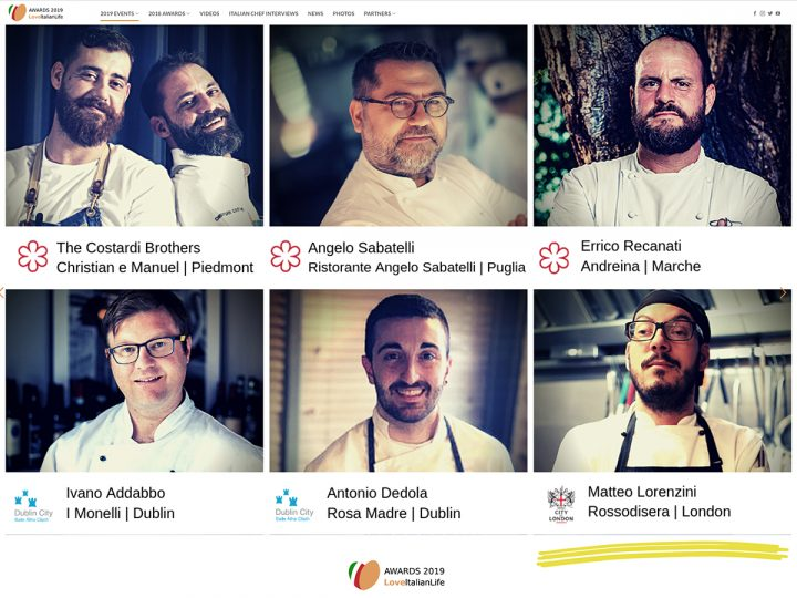 Matteo Lorenzini, ROSSODISERA's Chef among the Stars (Michelin)